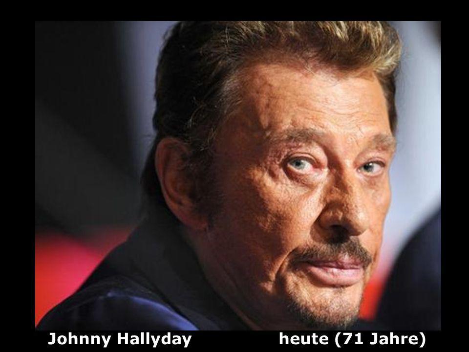 Johnny Hallyday heute (71 Jahre)