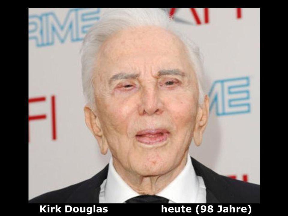 Kirk Douglas heute (98 Jahre)