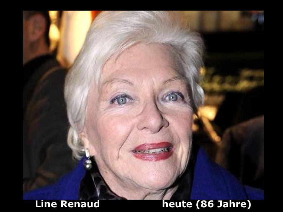 Line Renaud heute (86 Jahre)