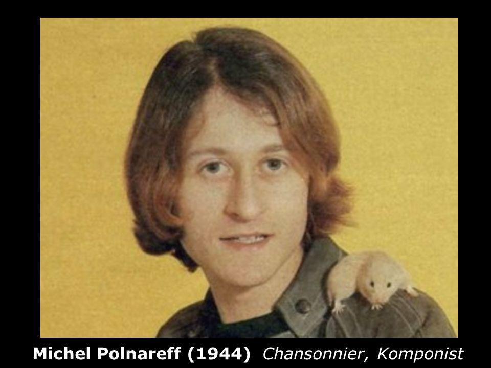 Michel Polnareff (1944) Chansonnier, Komponist