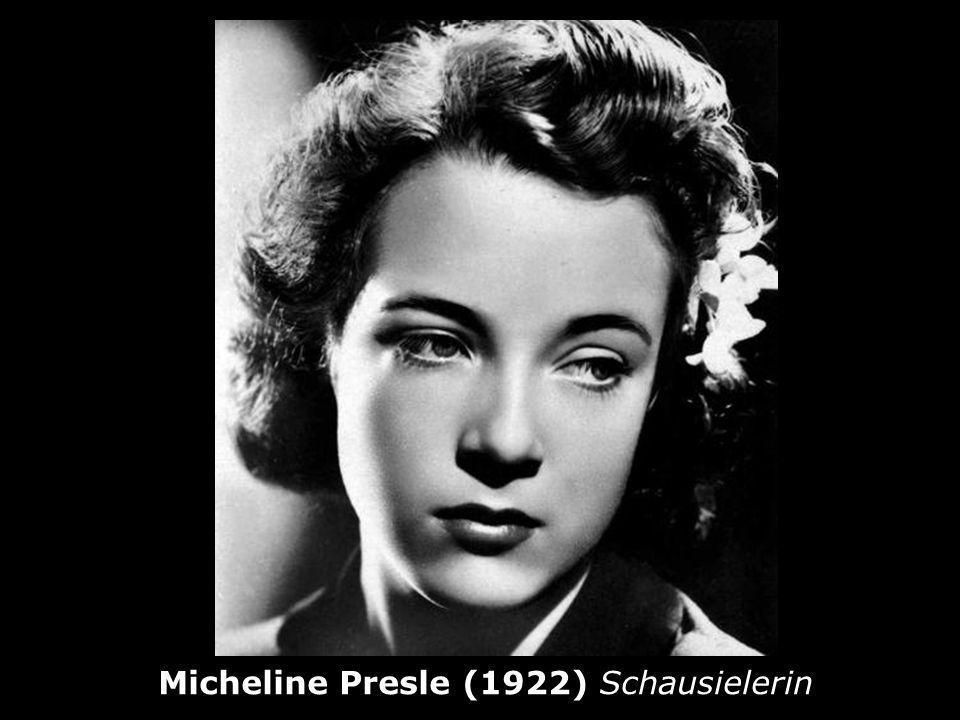 Micheline Presle (1922) Schausielerin