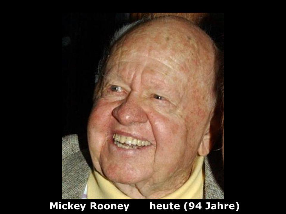 Mickey Rooney heute (94 Jahre)