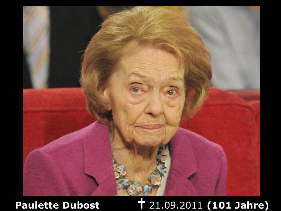 Paulette Dubost n 21.09.2011 (101 Jahre)