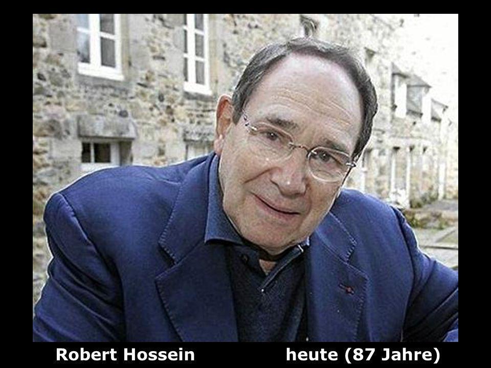 Robert Hossein heute (87 Jahre)