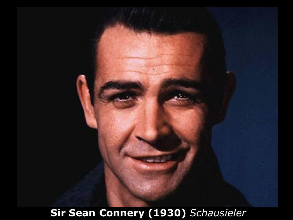 Sir Sean Connery (1930) Schausieler