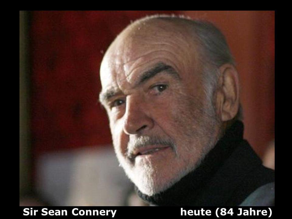 Sir Sean Connery heute (84 Jahre)