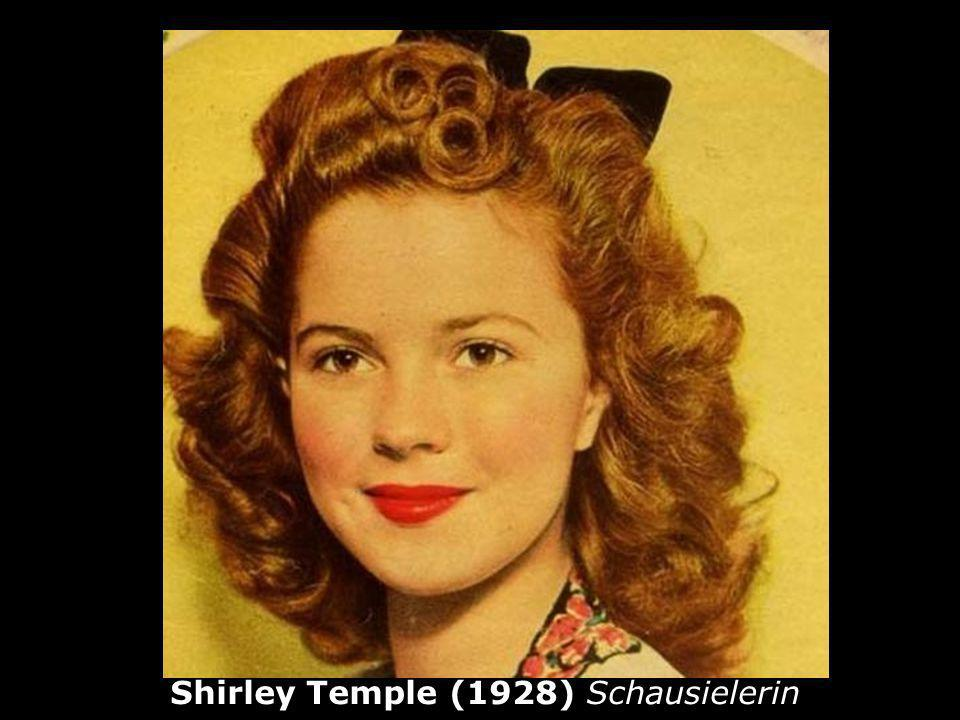 Shirley Temple (1928) Schausielerin