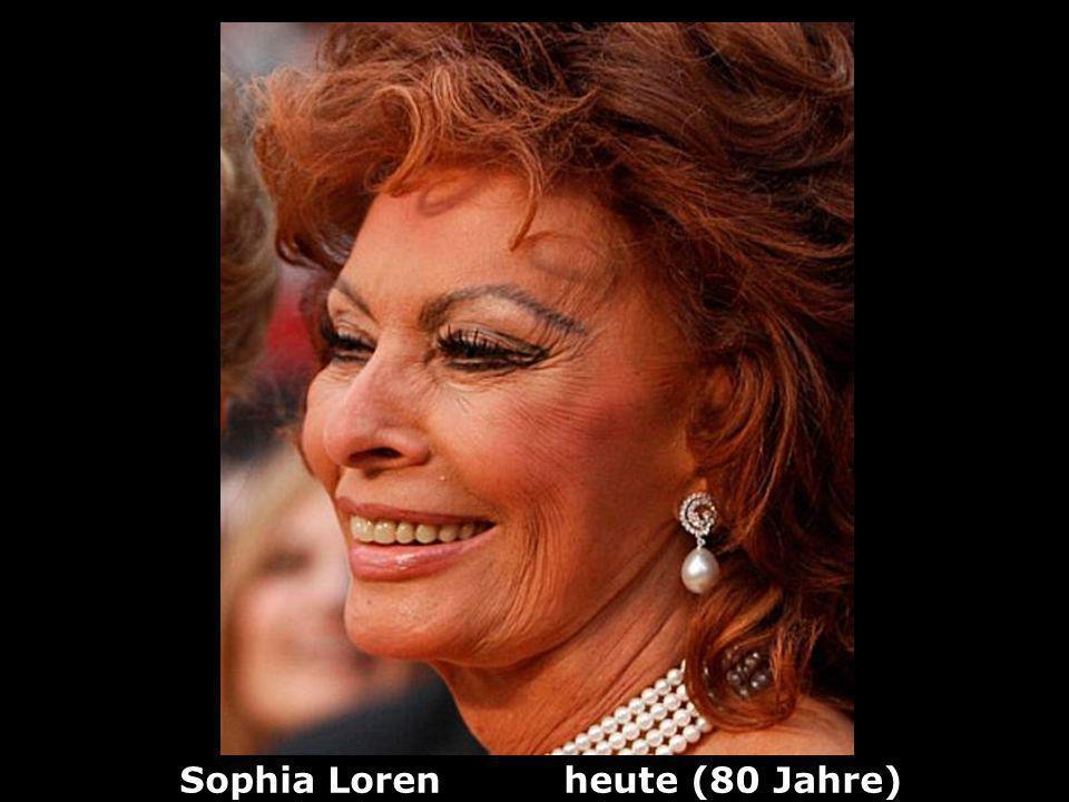 Sophia Loren heute (80 Jahre)