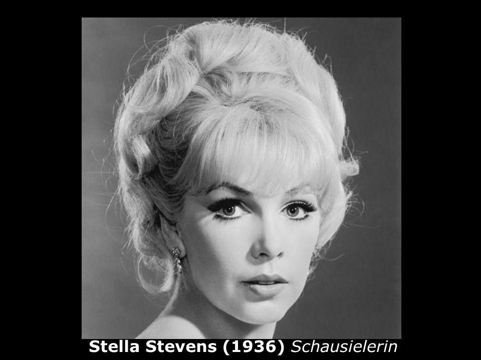Stella Stevens (1936) Schausielerin