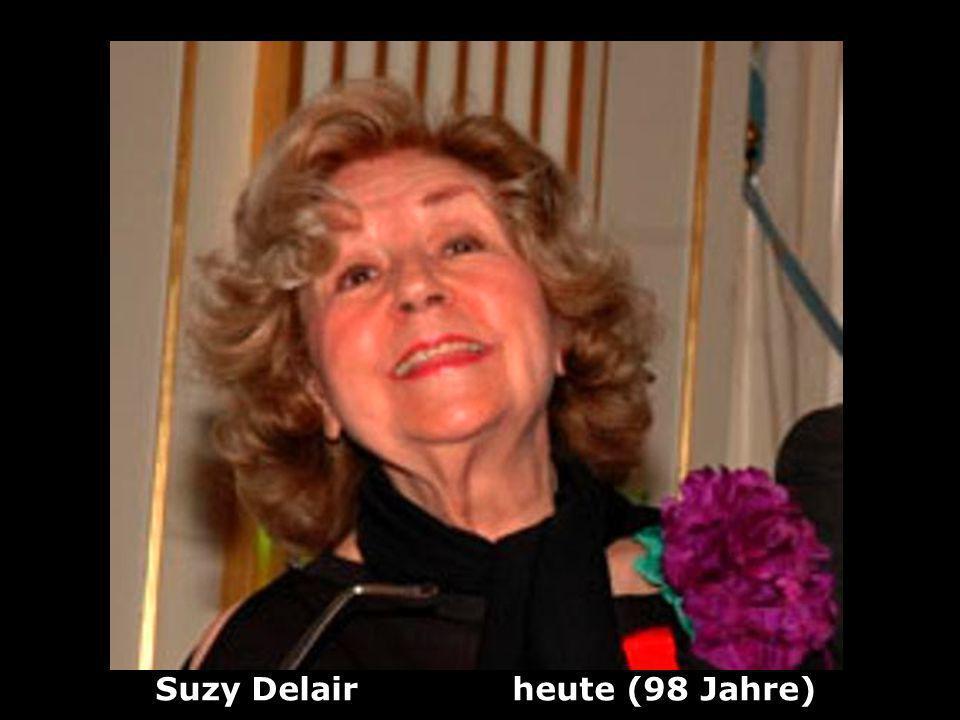 Suzy Delair heute (98 Jahre)