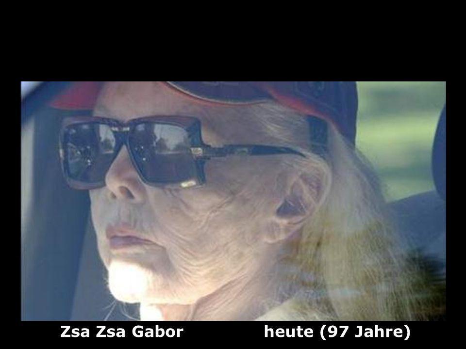 Zsa Zsa Gabor heute (97 Jahre)
