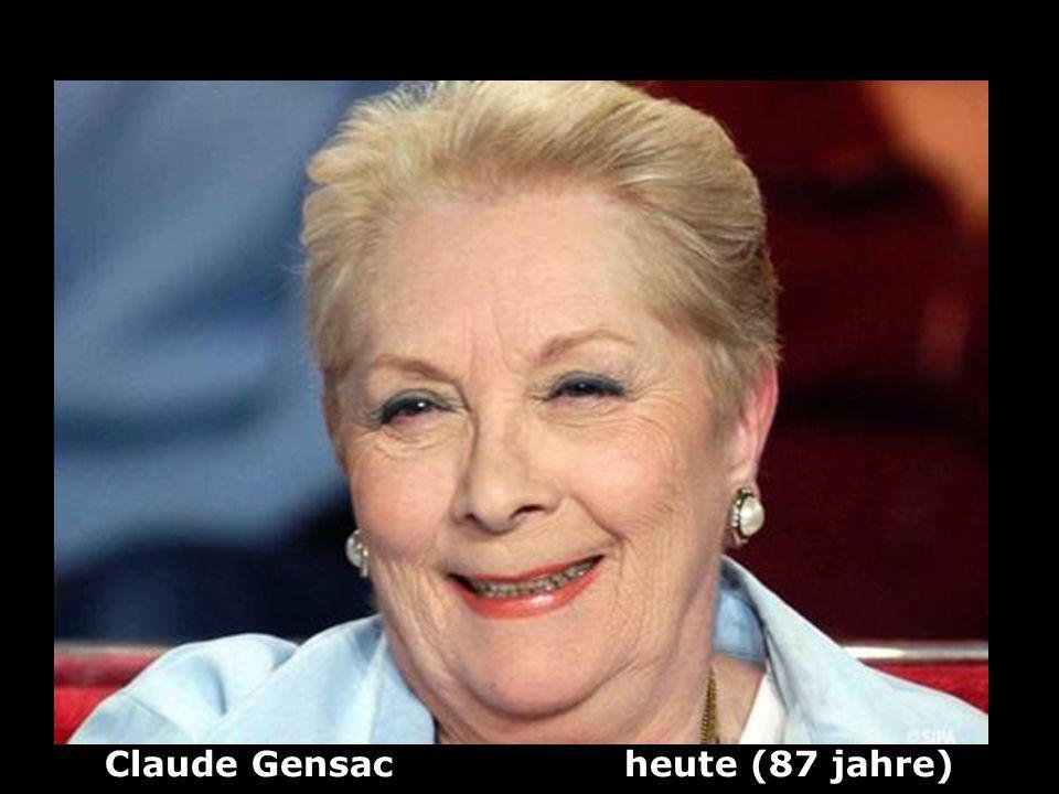 Claude Gensac heute (87 jahre)