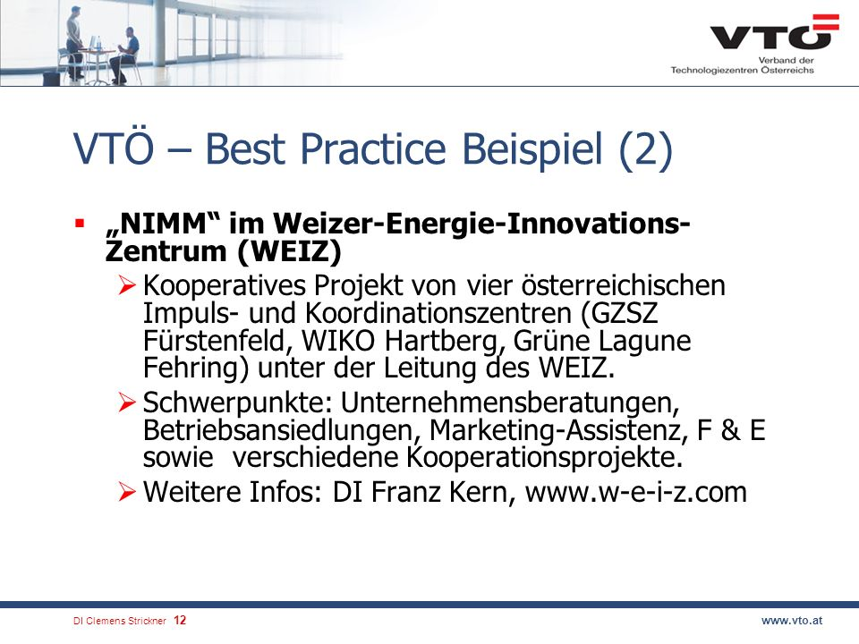 VTÖ – Best Practice Beispiel (2)