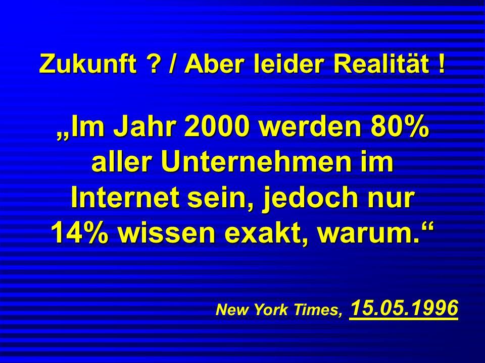 Zukunft / Aber leider Realität !