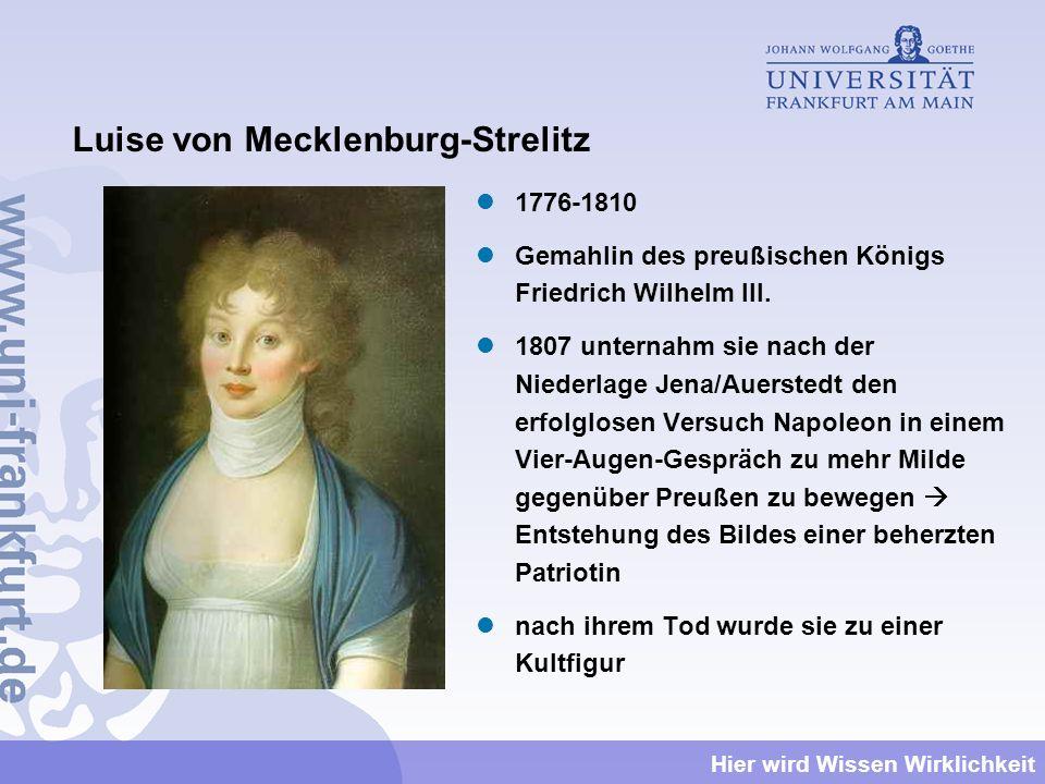 Luise von Mecklenburg-Strelitz