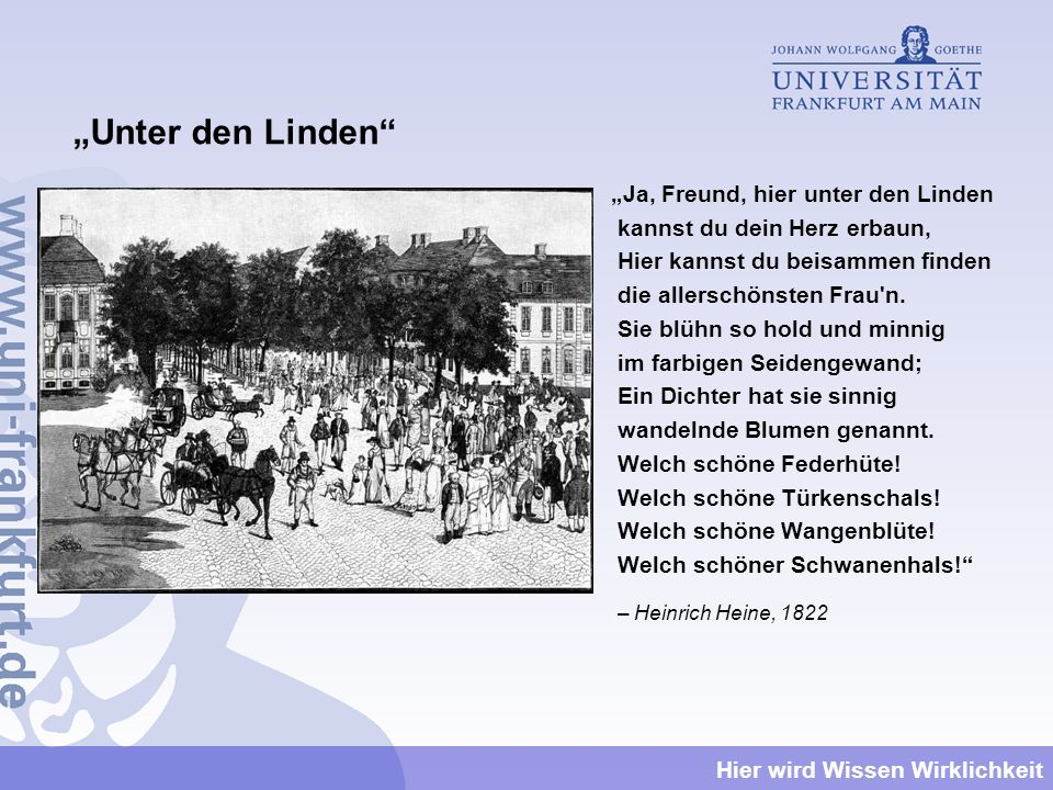 """""""Unter den Linden"""