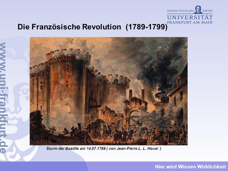 Die Französische Revolution (1789-1799)