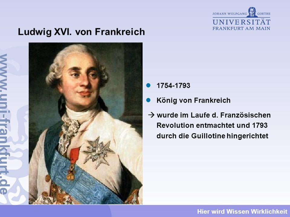 Ludwig XVI. von Frankreich