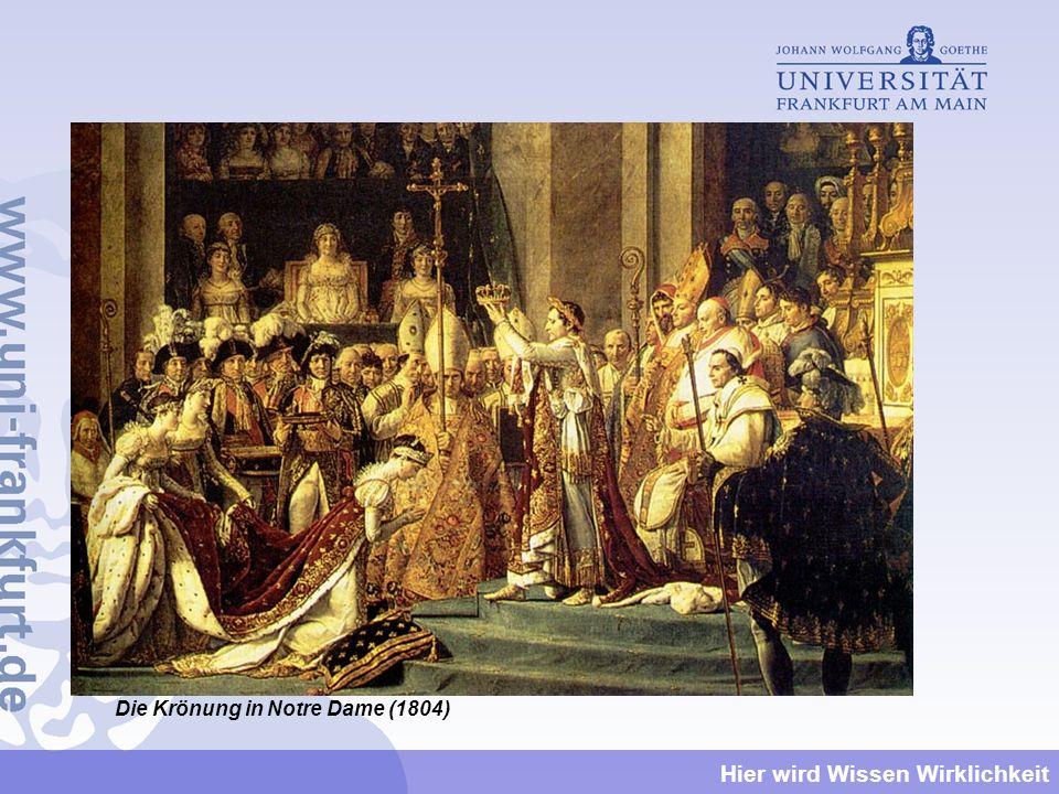 Die Krönung in Notre Dame (1804)