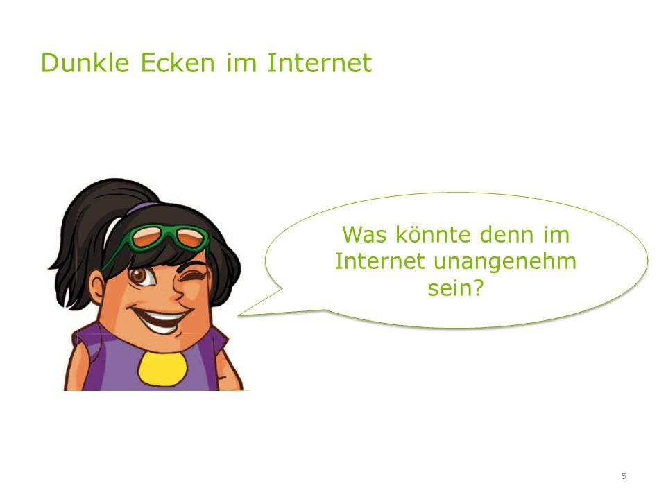Dunkle Ecken im Internet