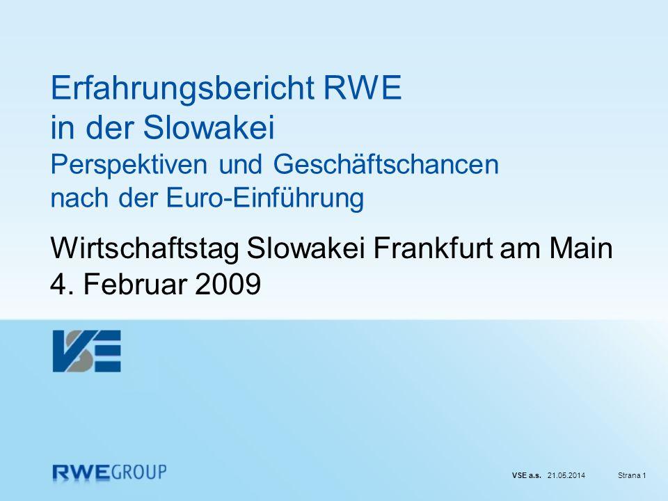 Wirtschaftstag Slowakei Frankfurt am Main 4. Februar 2009