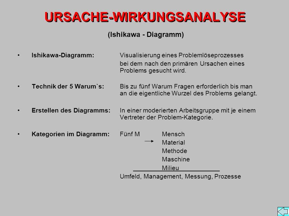 URSACHE-WIRKUNGSANALYSE