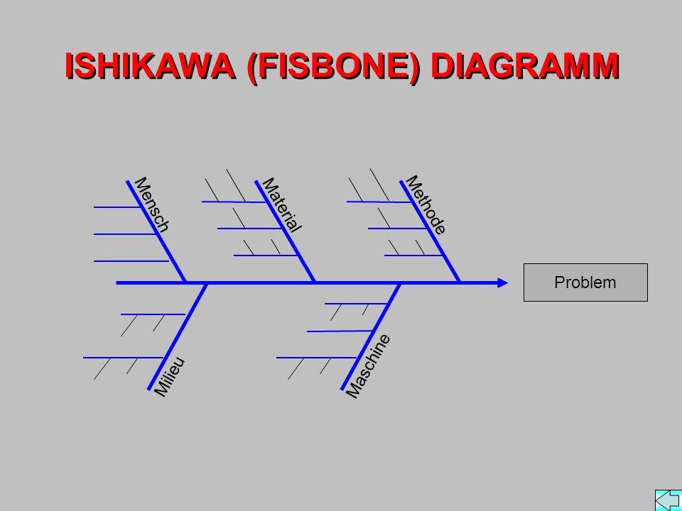 ISHIKAWA (FISBONE) DIAGRAMM
