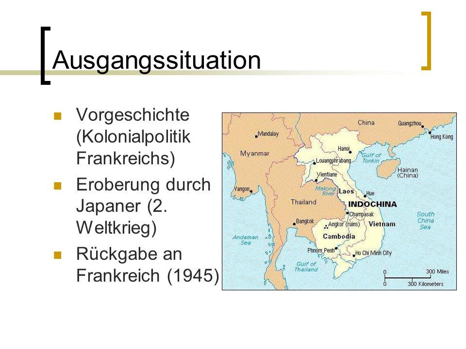Ausgangssituation Vorgeschichte (Kolonialpolitik Frankreichs)
