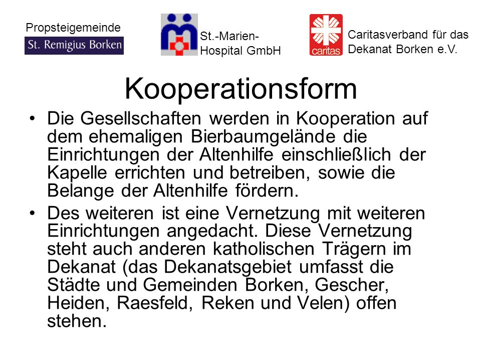Kooperationsform