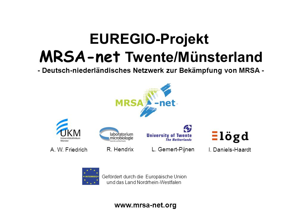 MRSA-net Twente/Münsterland