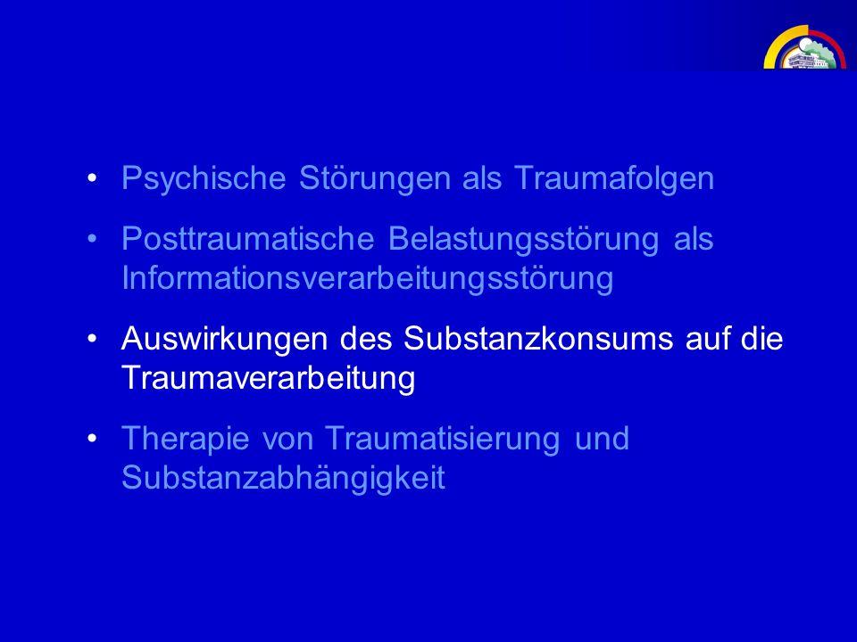 Psychische Störungen als Traumafolgen