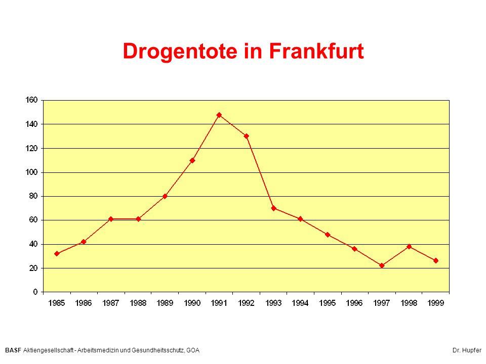 Drogentote in Frankfurt