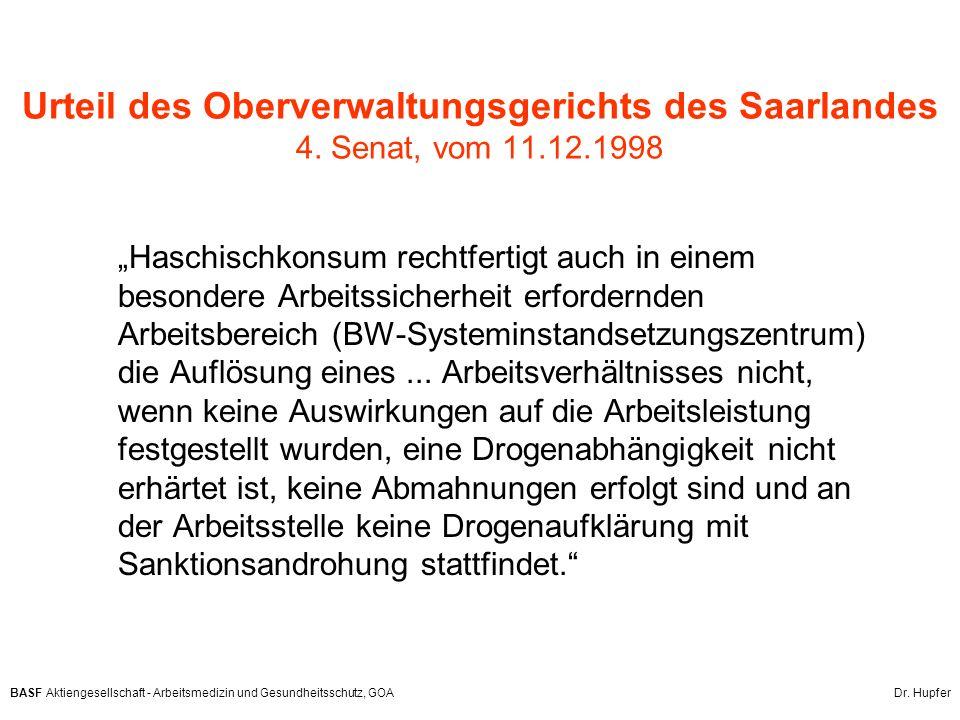 Urteil des Oberverwaltungsgerichts des Saarlandes 4. Senat, vom 11. 12