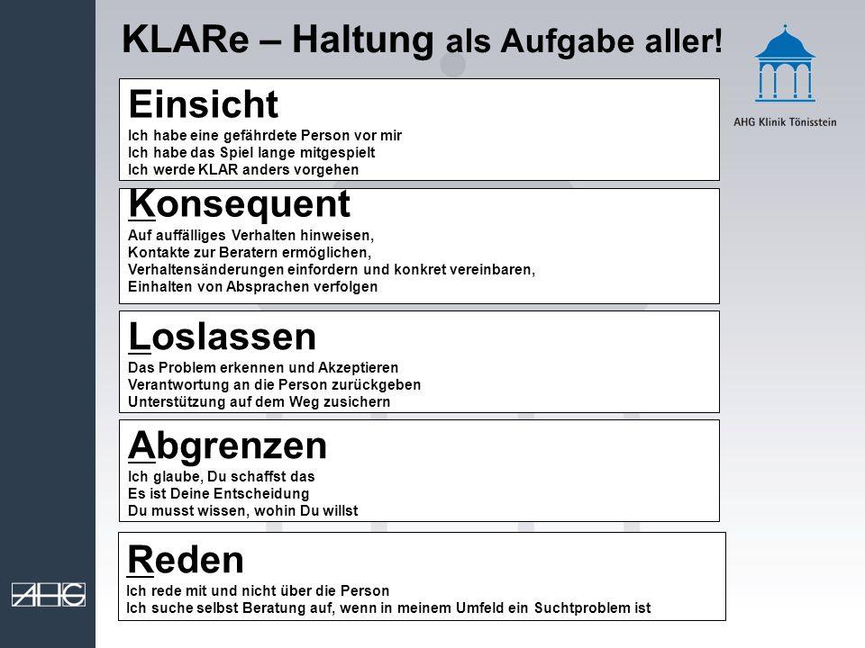 KLARe – Haltung als Aufgabe aller!