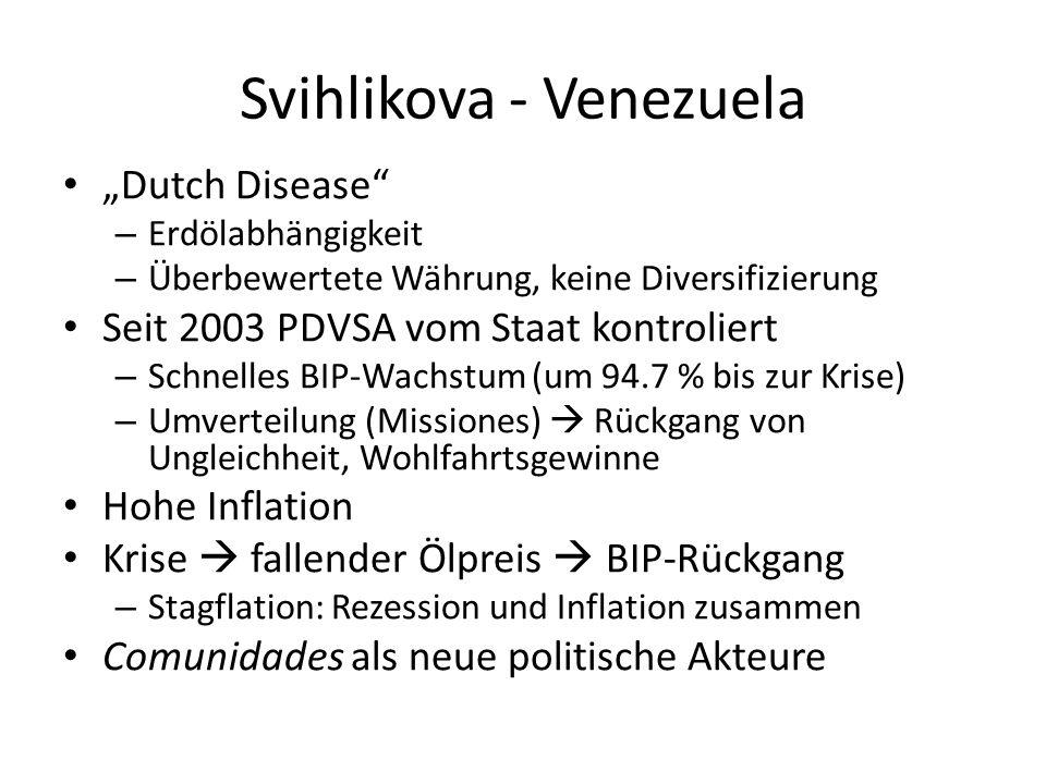 Svihlikova - Venezuela