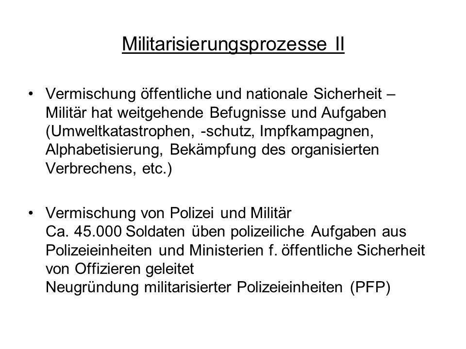 Militarisierungsprozesse II