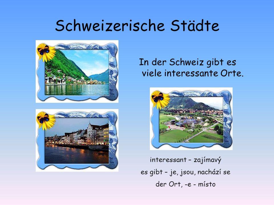 Schweizerische Städte