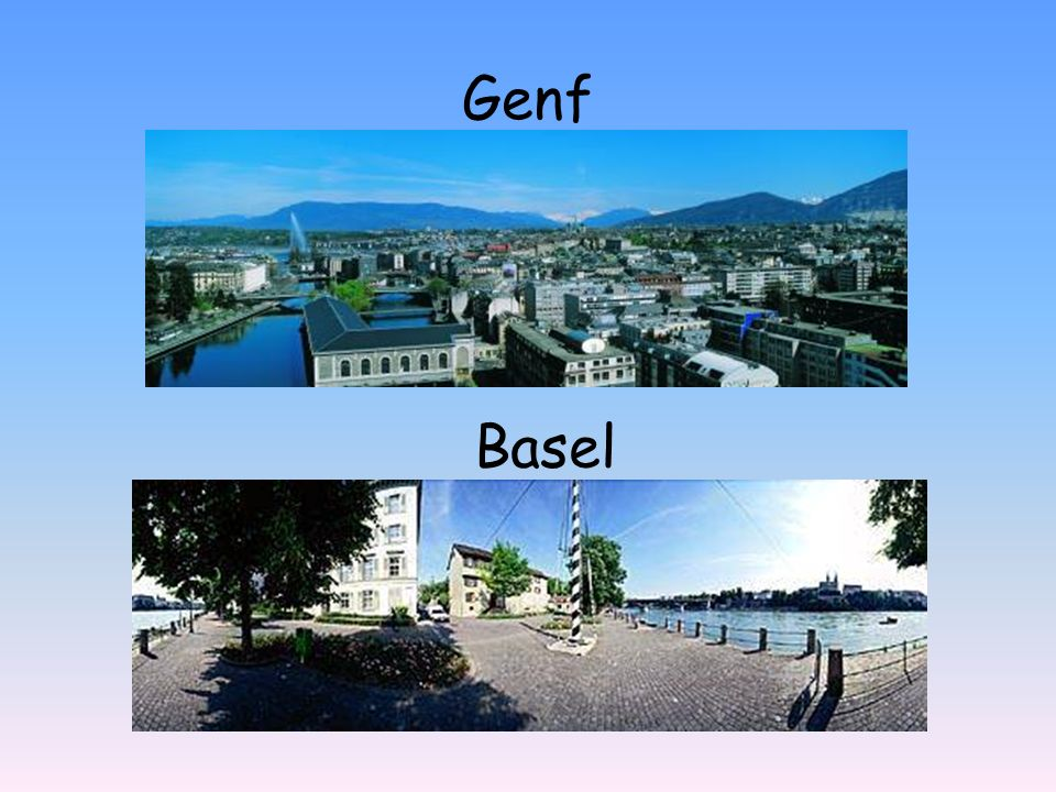 Genf Basel