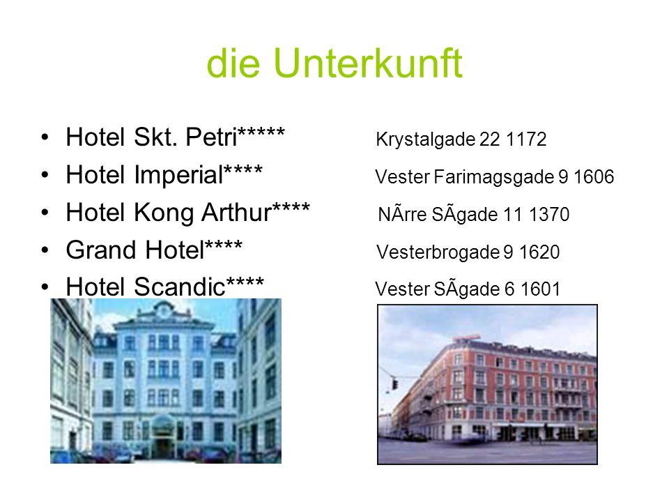 die Unterkunft Hotel Skt. Petri***** Krystalgade 22 1172
