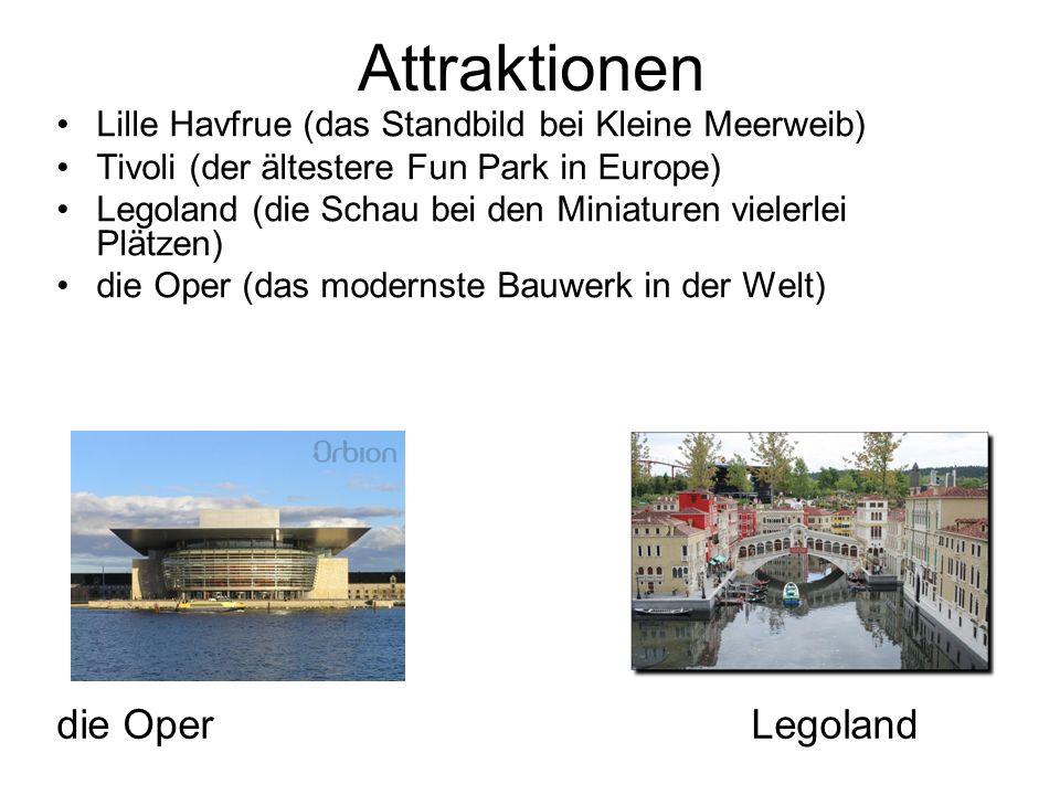 Attraktionen die Oper Legoland