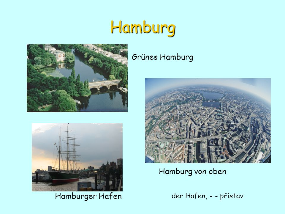 Hamburg Grünes Hamburg Hamburg von oben Hamburger Hafen