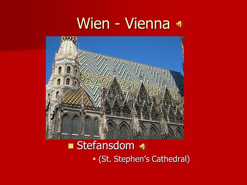 Wien - Vienna Stefansdom (St. Stephen's Cathedral)