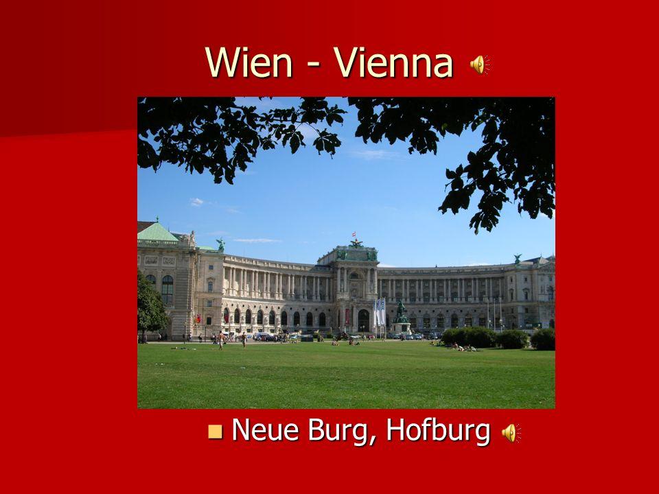 Wien - Vienna Neue Burg, Hofburg