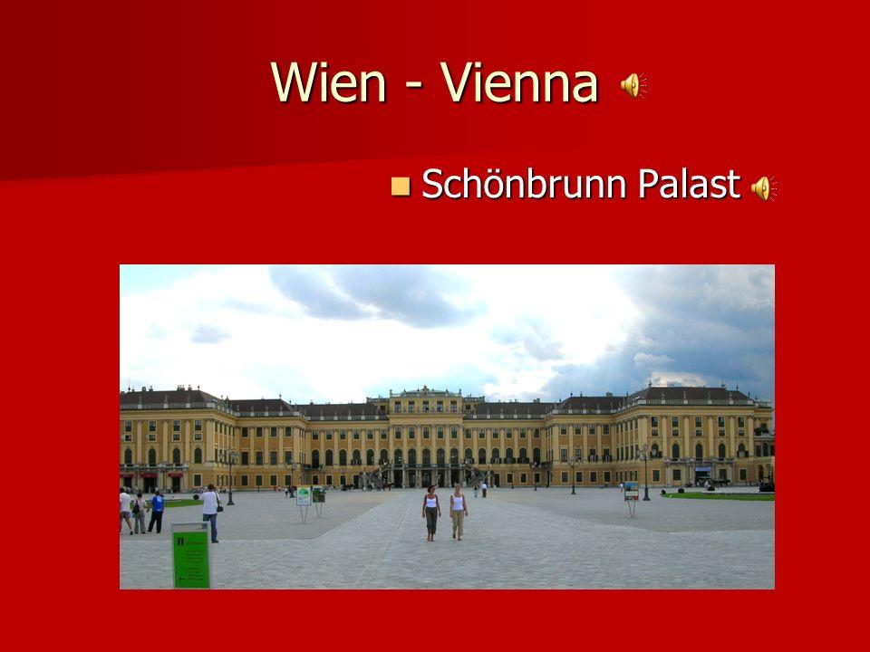 Wien - Vienna Schönbrunn Palast