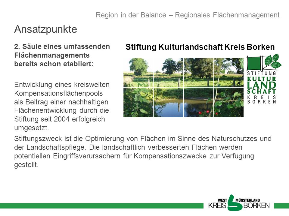 Stiftung Kulturlandschaft Kreis Borken