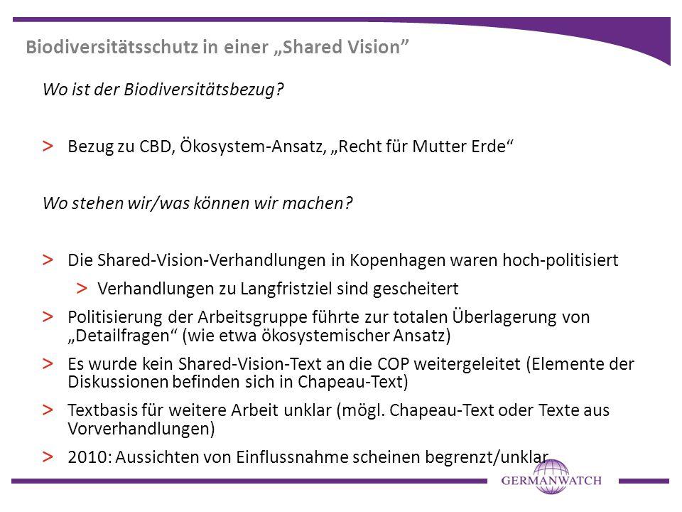 """Biodiversitätsschutz in einer """"Shared Vision"""