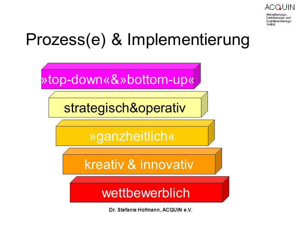 Prozess(e) & Implementierung