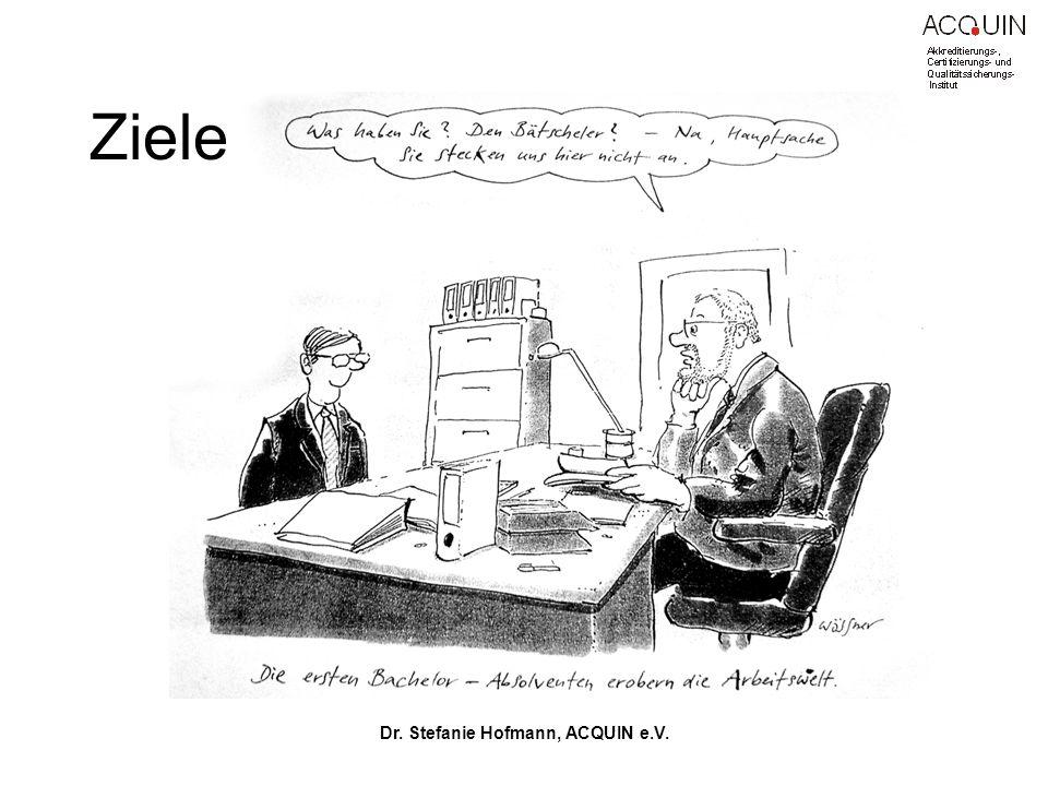 Dr. Stefanie Hofmann, ACQUIN e.V.