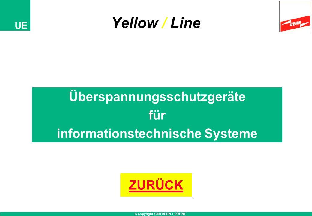 Überspannungsschutzgeräte informationstechnische Systeme