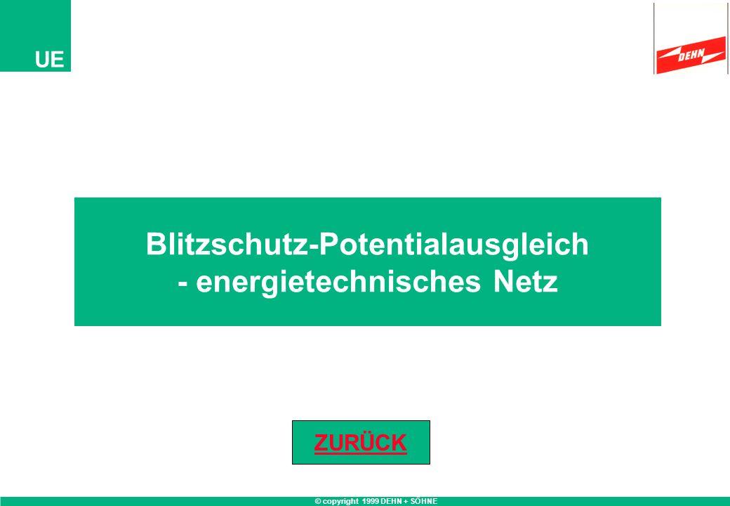 Blitzschutz-Potentialausgleich - energietechnisches Netz